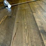 rough sawn doug fir flooring
