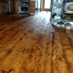 circle sawn douglas fir flooring