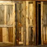 Beetle Kill Blue stain pine doors
