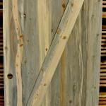 blue stain pine plank door