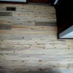 Beetle killed blue stain flooring