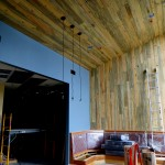 Beetle kill ponderosa pine ceilings