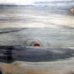 Heavy blue stain pine flooring