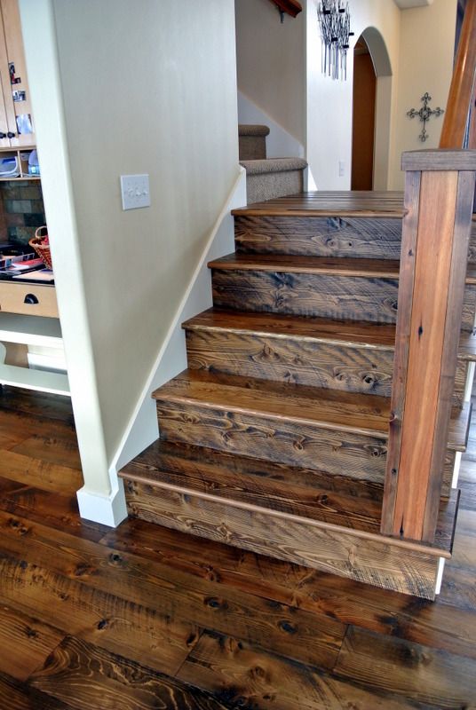 Rough Sawn Doug Fir Stair Parts Sustainable Lumber Company