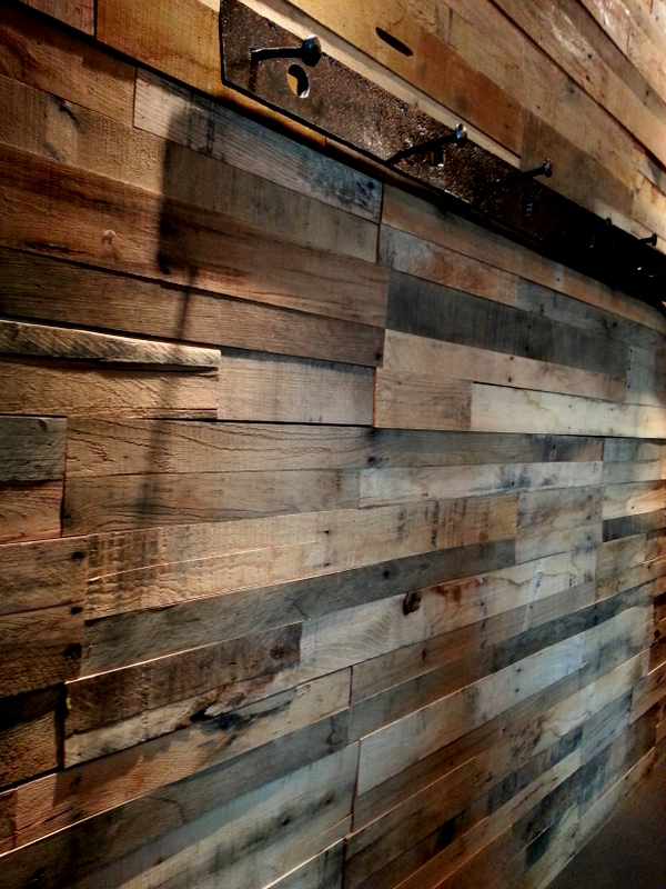 Recycled Wooden Pallet Wall Paneling
