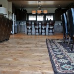 finished doug fir flooring