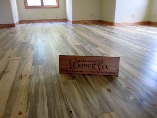 Beetle Kill Blue Pine T Amp G Flooring Sustainable Lumber