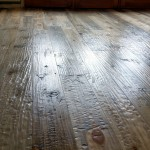hand scraped blue pine flooring
