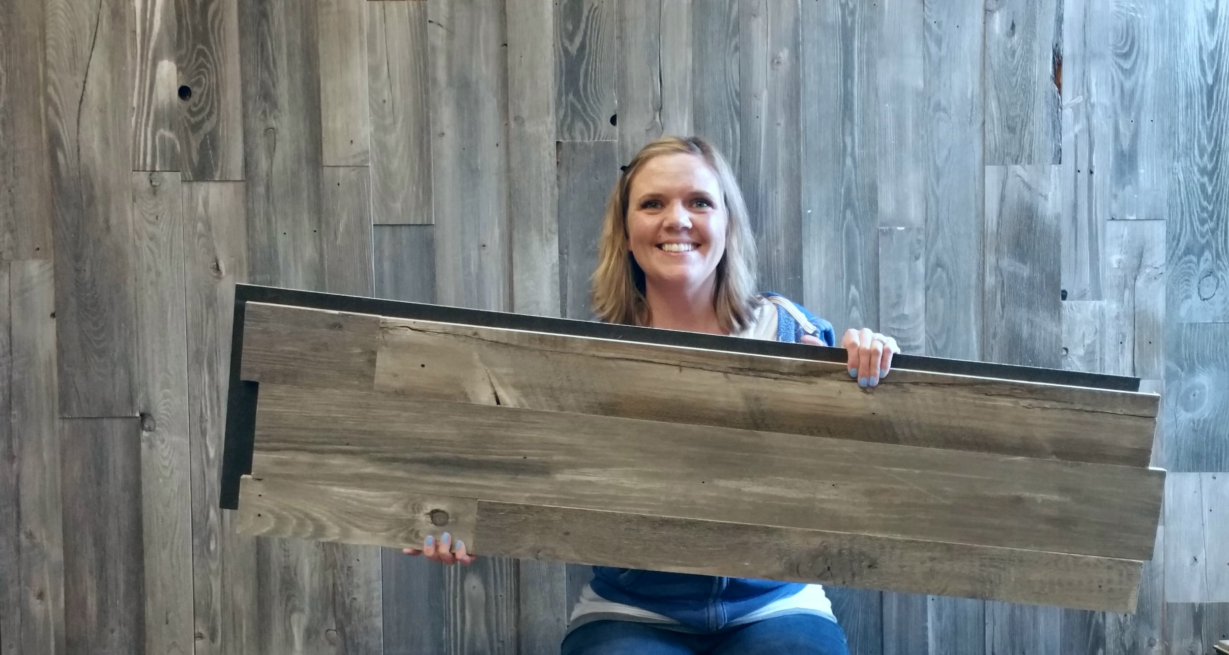 Find Many Great New Used Options And Get The Best Deals For Reclaimed Barnwood Subway Tile Barn Wood Vintage Rustic Paneling At Online