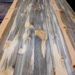 Beetle kill pine T&G wall paneling