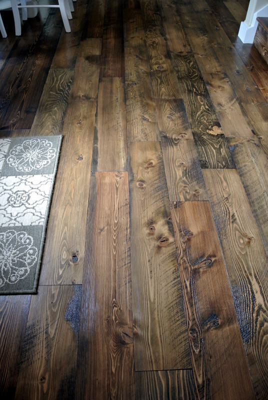 Rough Wood Planks ~ Rough cut lumber hardwood flooring floor matttroy