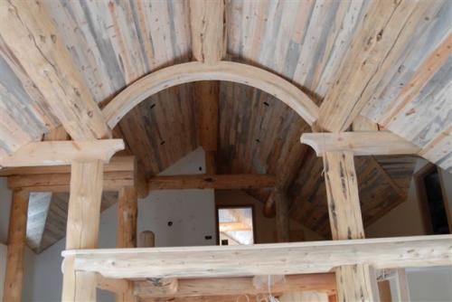 Beetle Killed Blue Stain Pine Ceiling Decking