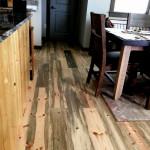 blue pine flooring