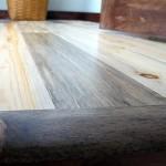 Blue stain flooring