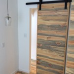 rustic wood barn door