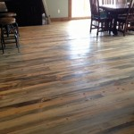 Beetle kill pine flooring