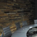 wood pallet wall