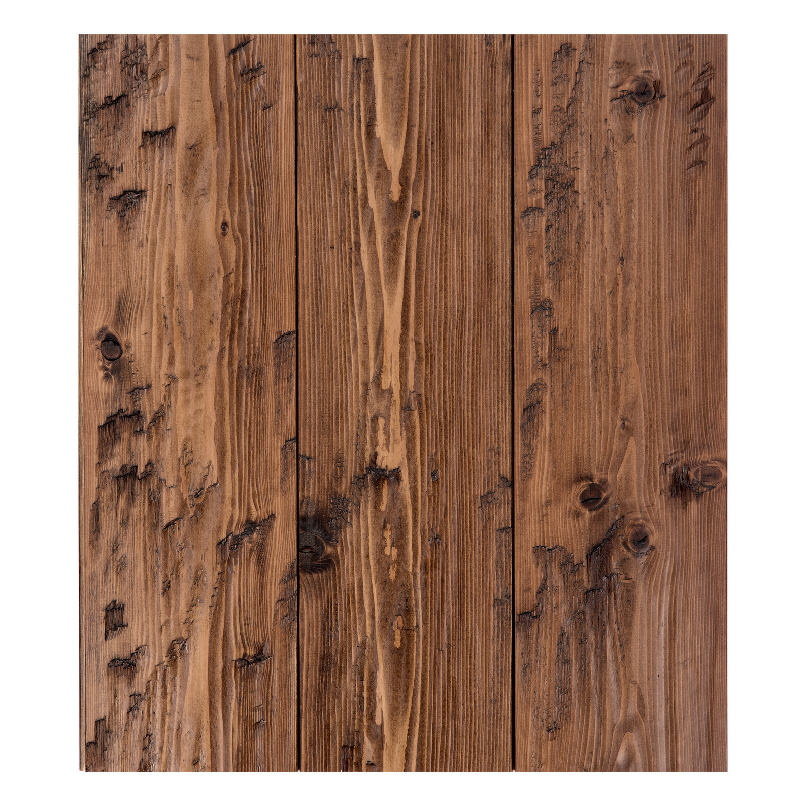 vintage reclaimed brown wood flooring