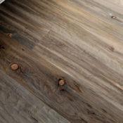 Hand distressed beetle killed pine floors