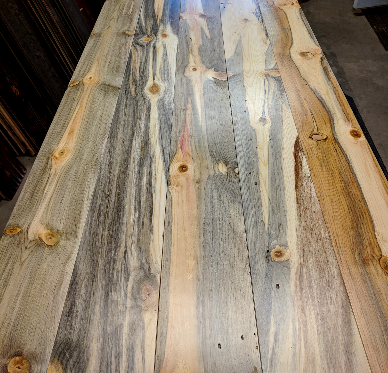 Prefinished vs unfinished wood wall paneling for Prefinished wood panels