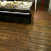 doug fir floor commercial use